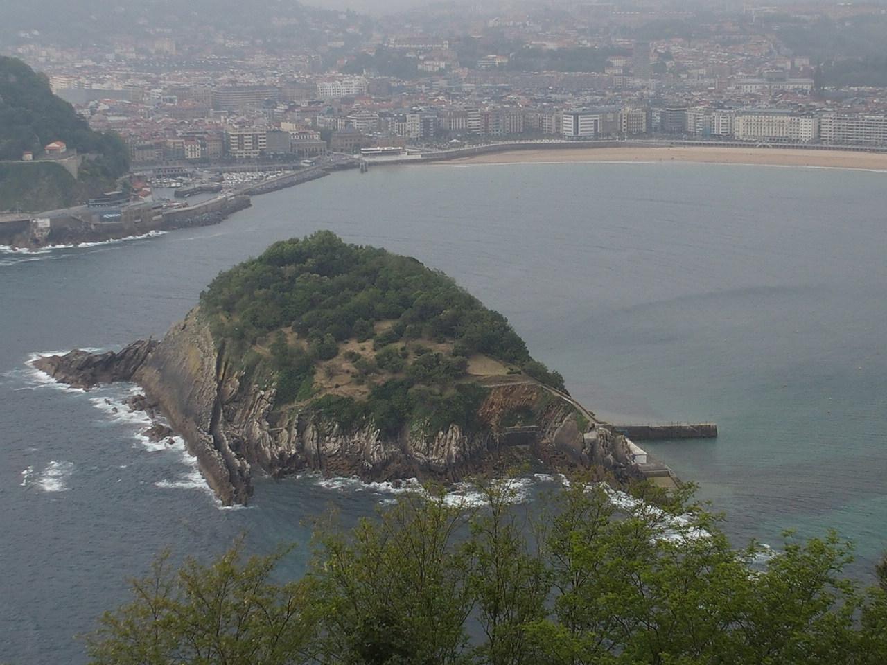 サンセバスチャンのモンテイゲルドの丘