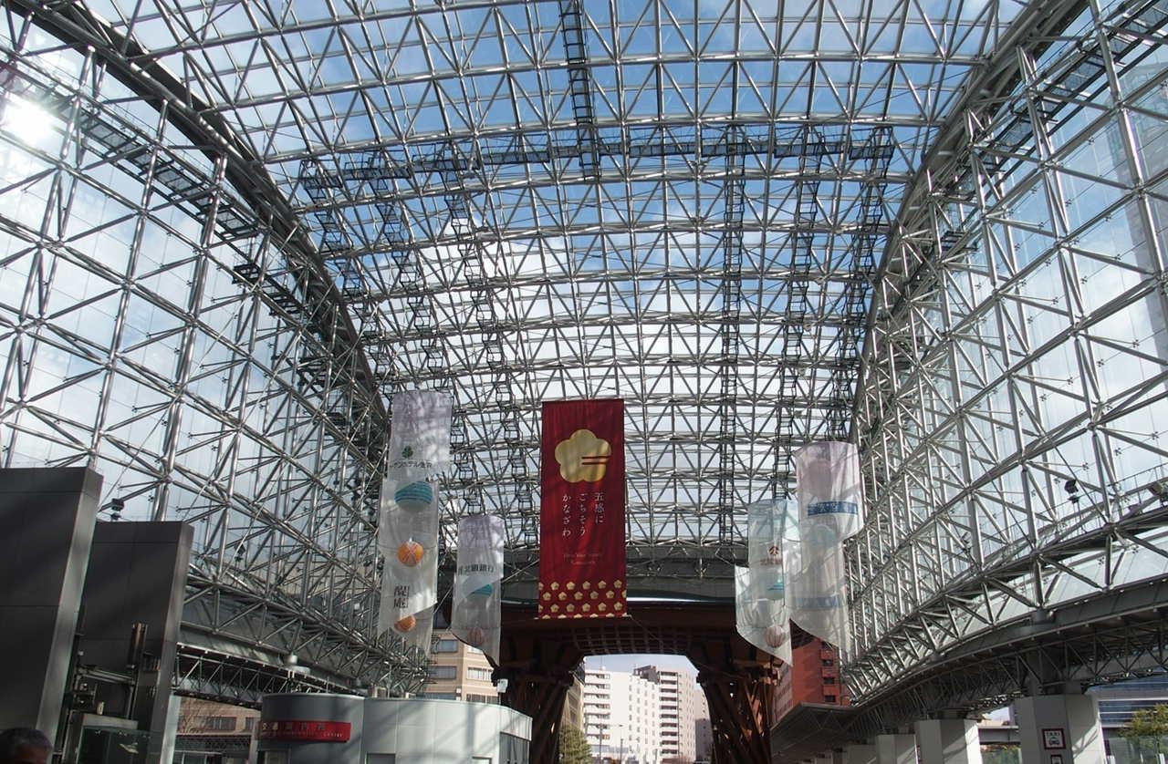 金沢の観光スポットにもなっている金沢駅