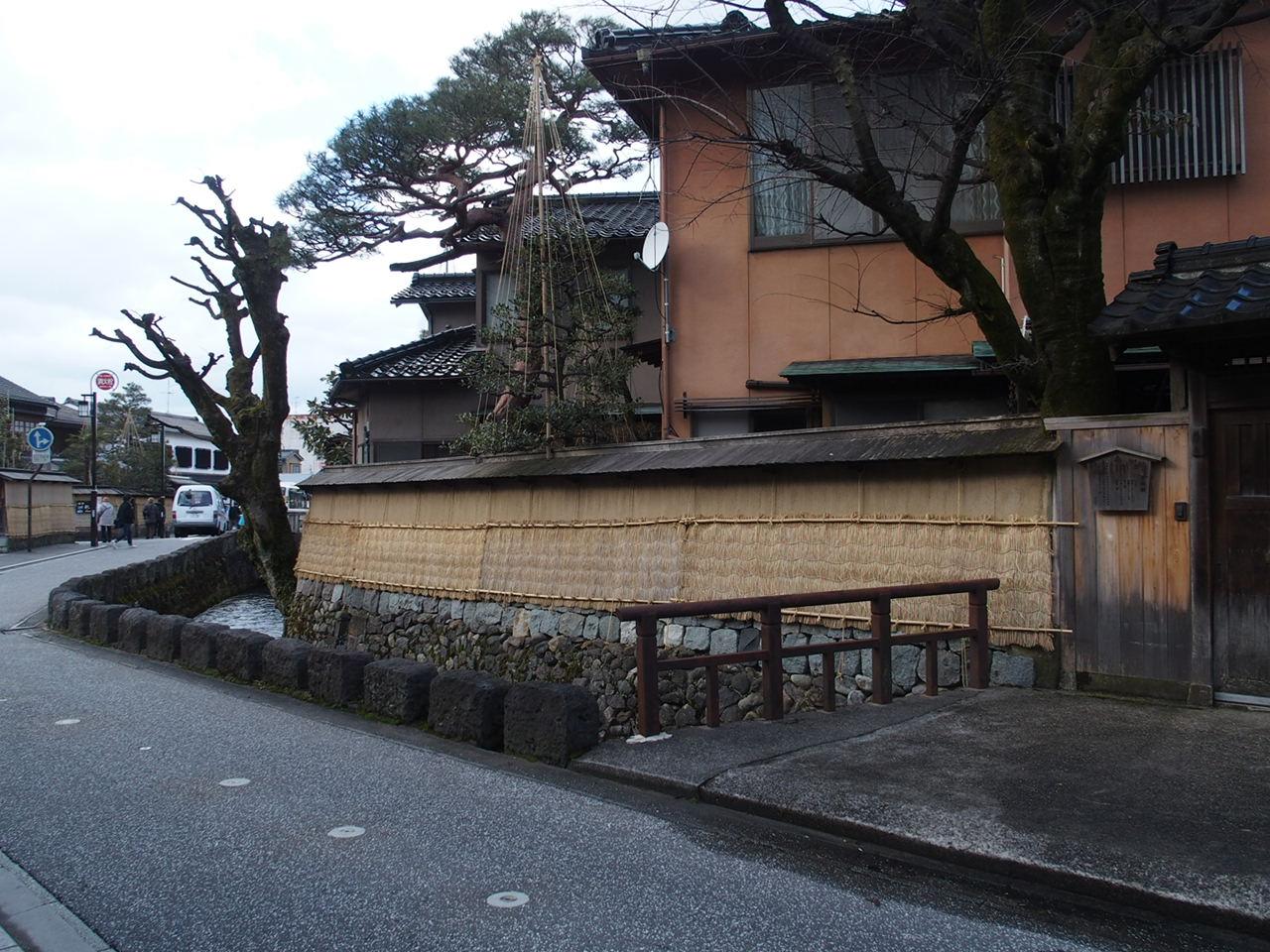 金沢の観光スポット武家屋敷
