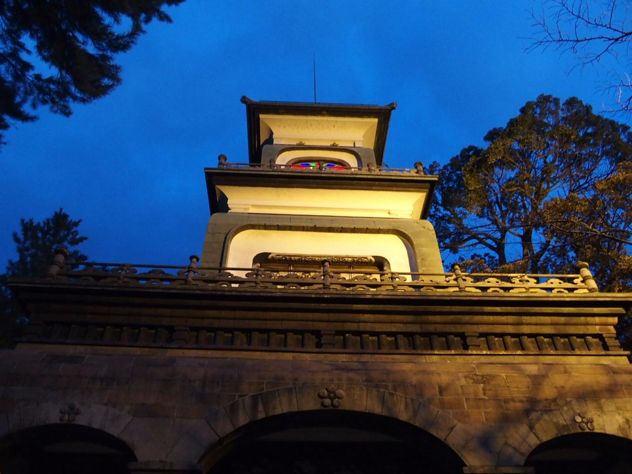 金沢の観光スポット尾山神社