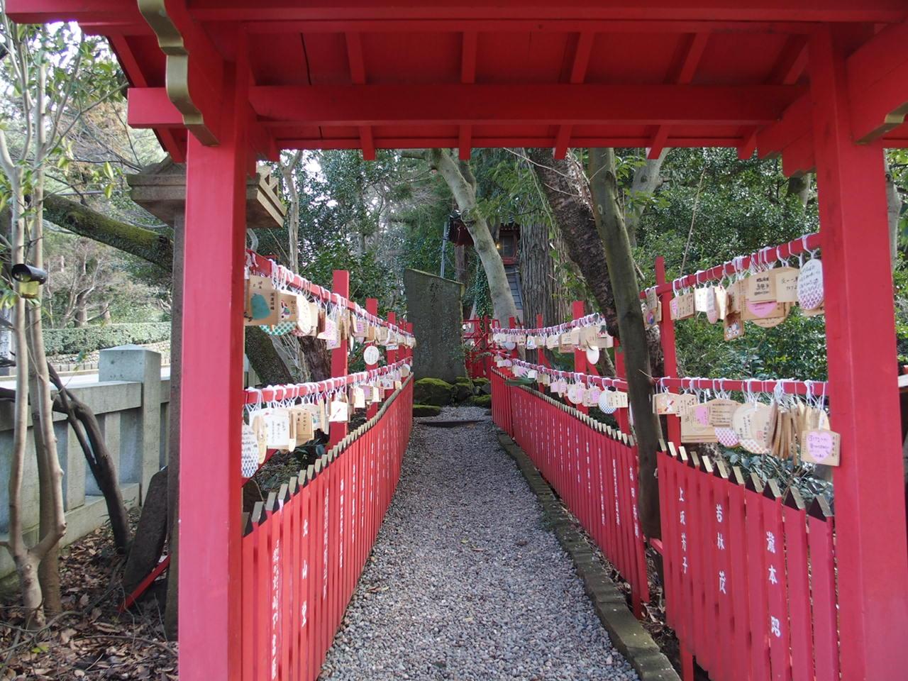 金沢の縁結びのパワースポット石浦神社