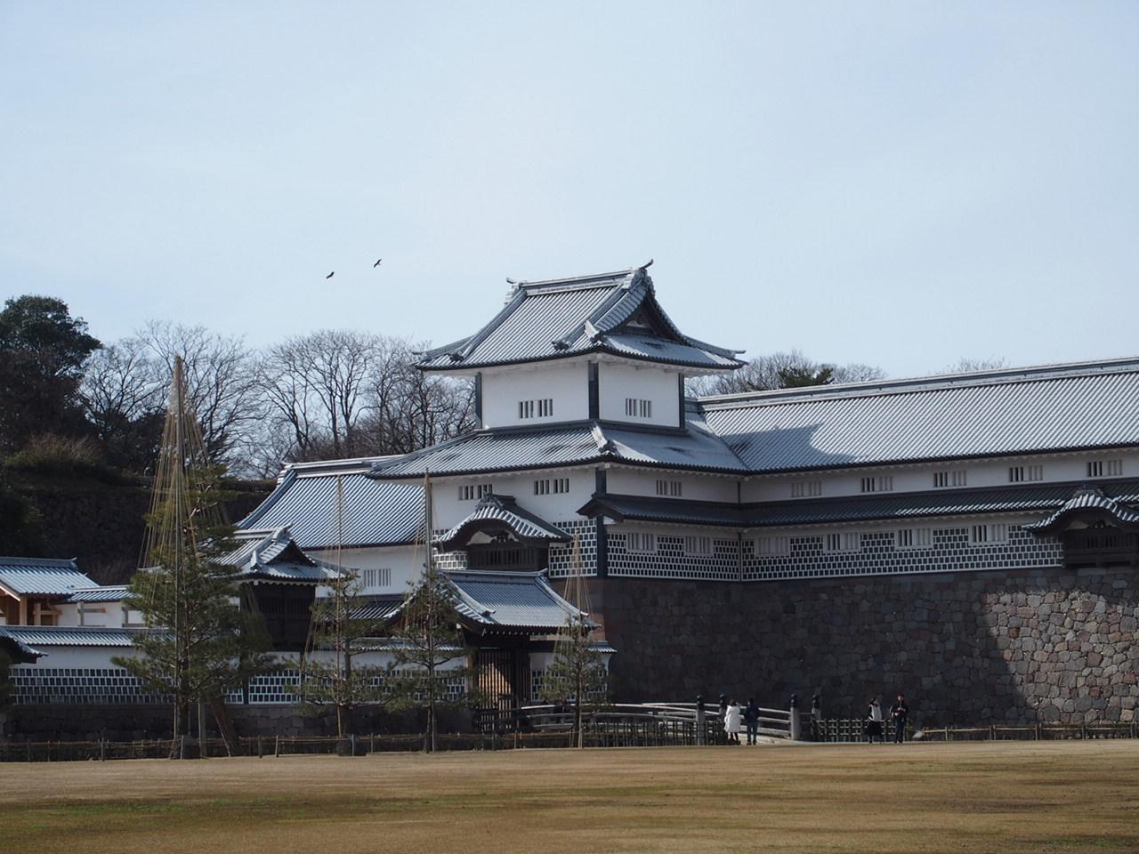 金沢の観光スポット金沢城