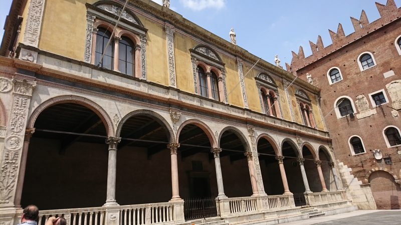 ヴェローナのシニョーリ広場