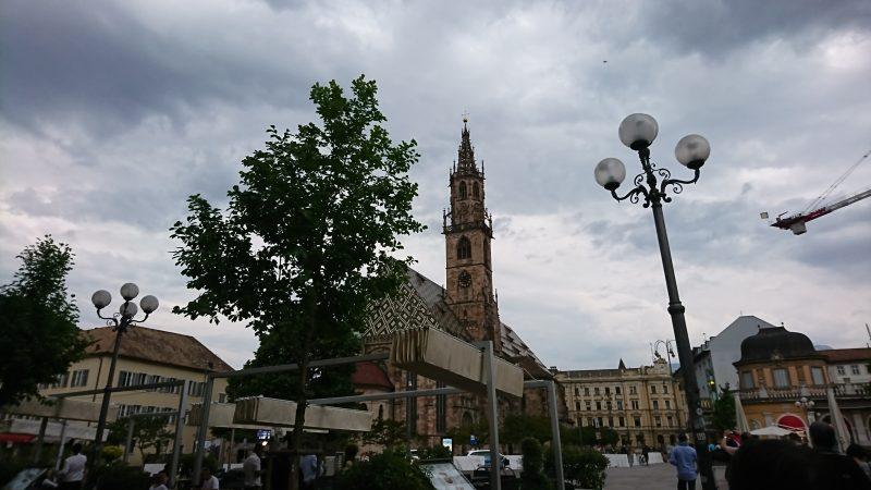 イタリアドロミテ街道の西の拠点ボルツァーノ