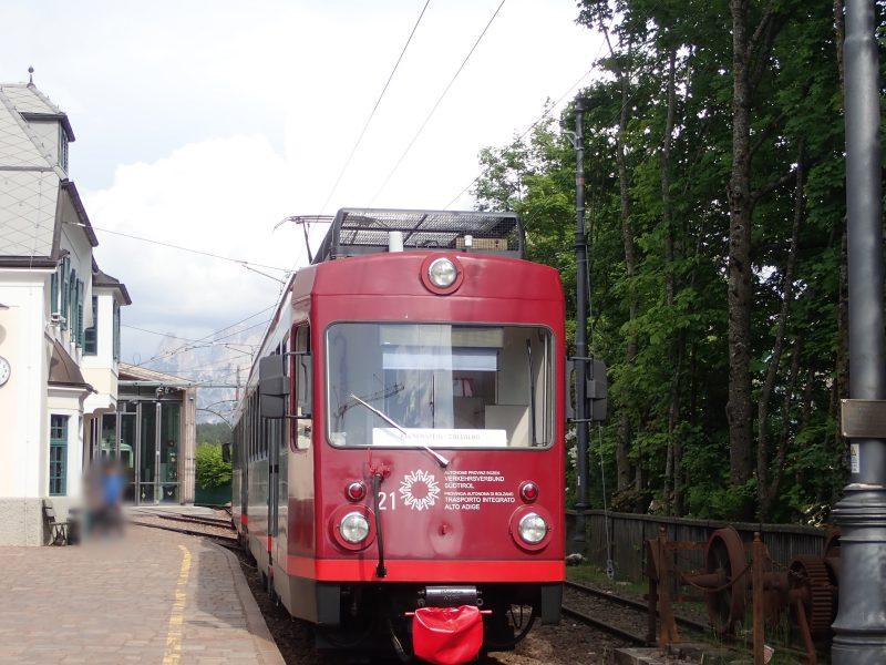 ソプラボルツァーノとコッラルボをつなぐレノン鉄道