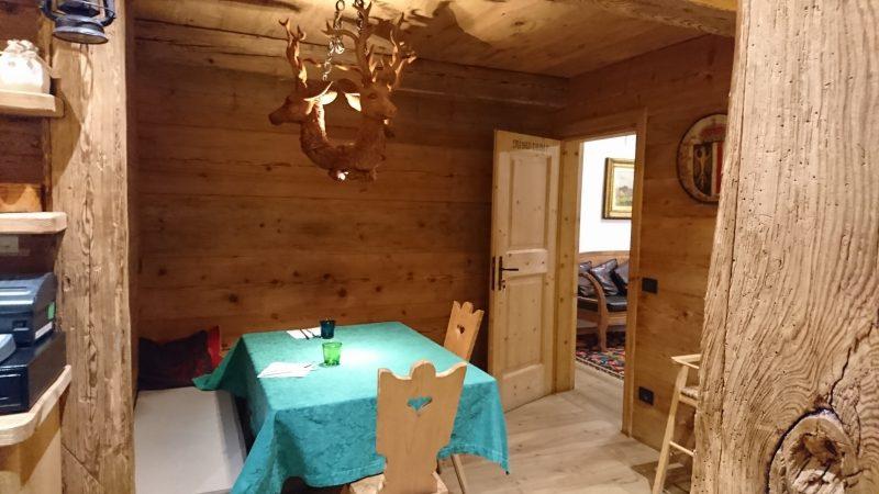 コルチナダンペッツォでディナーを頂いたJagerhouse