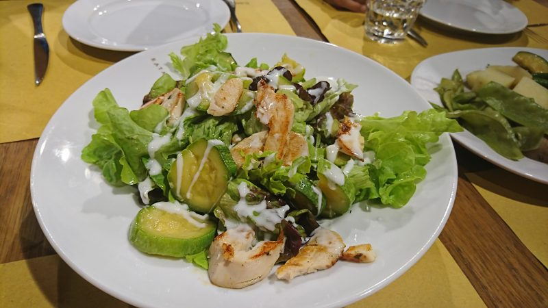 ボローニャで食のテーマパークと言われるEatalyでディナー