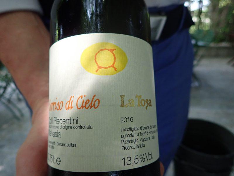 イタリアジベッロでクラッテロを食べたTrattoria La Buca