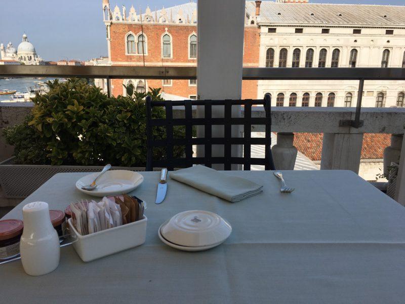 5つ星ホテルダニエリの朝食