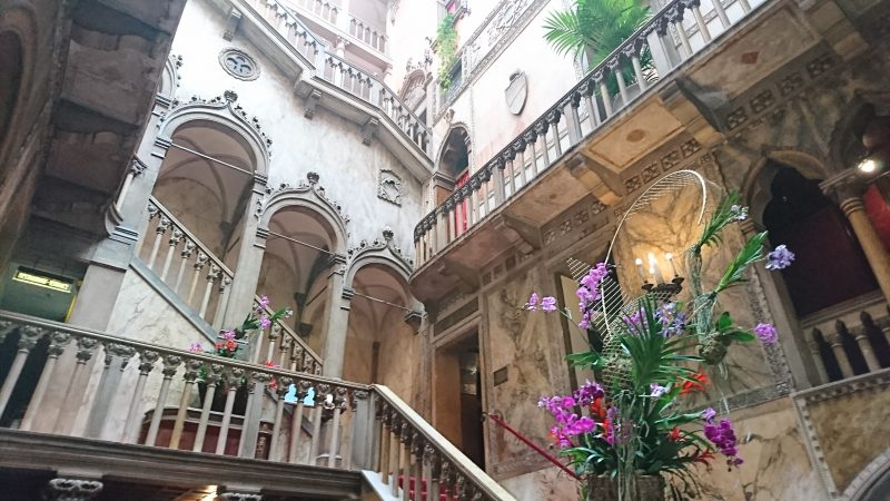 ベネチアの5つ星ホテルダニエリ