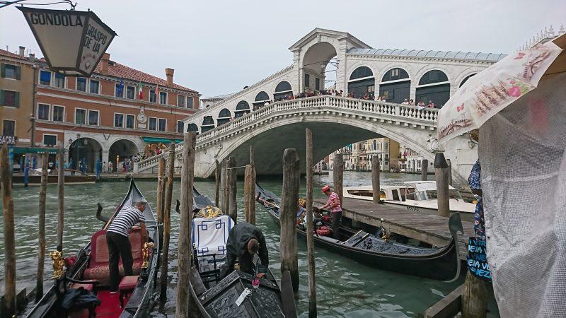 ベネチアのリアトル橋