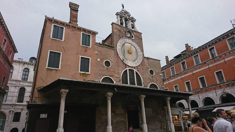 ベネチアのサン・ジャコモ・ディ・リアルト教会