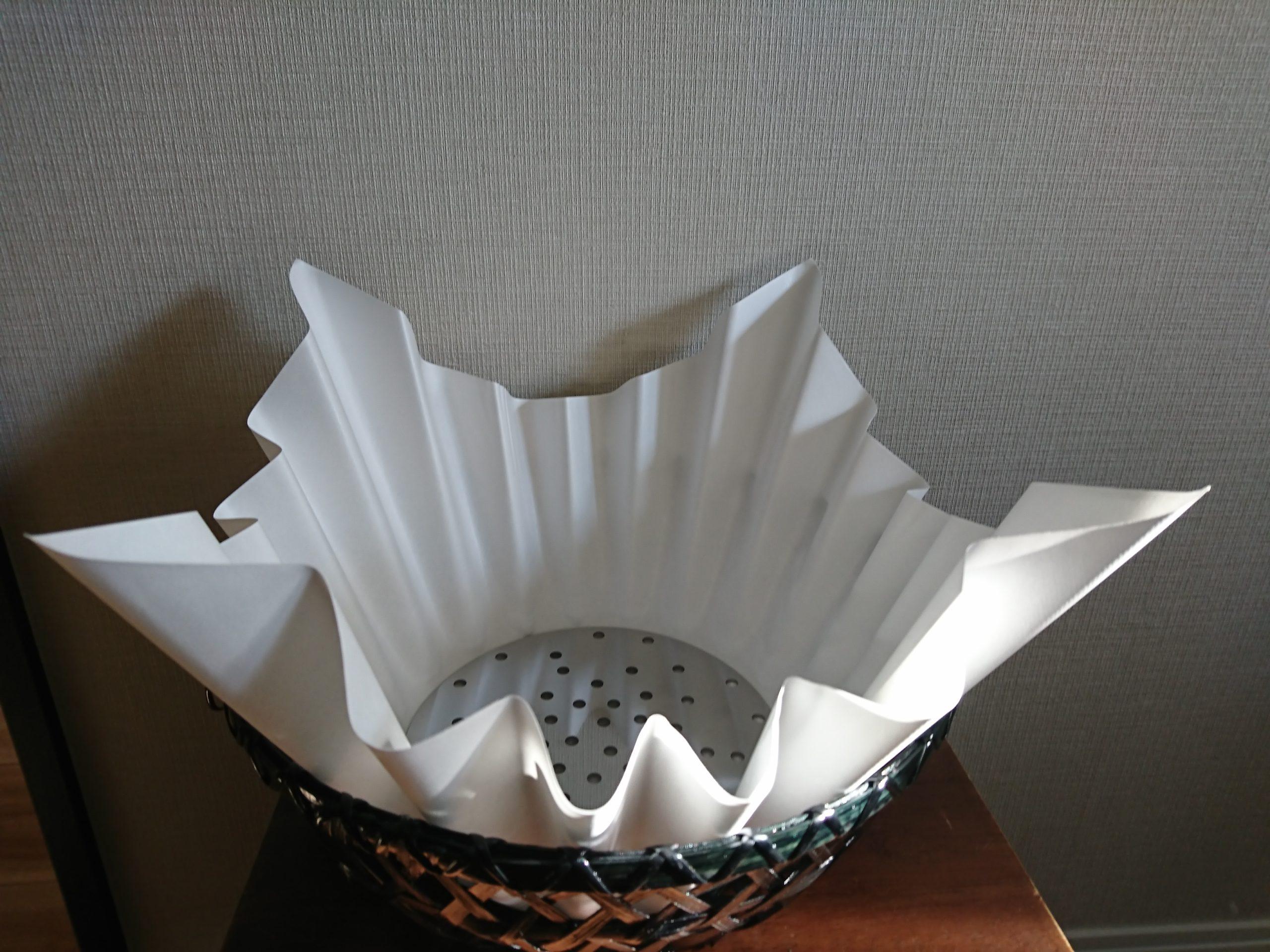 ポイントバケーションで利用している紙鍋