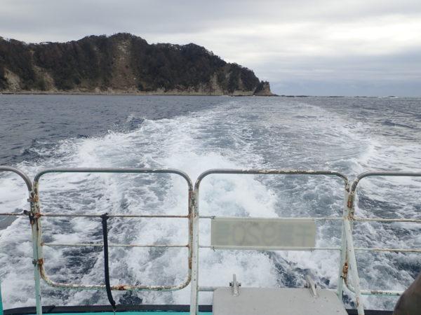 鯛の浦遊覧船に乗船