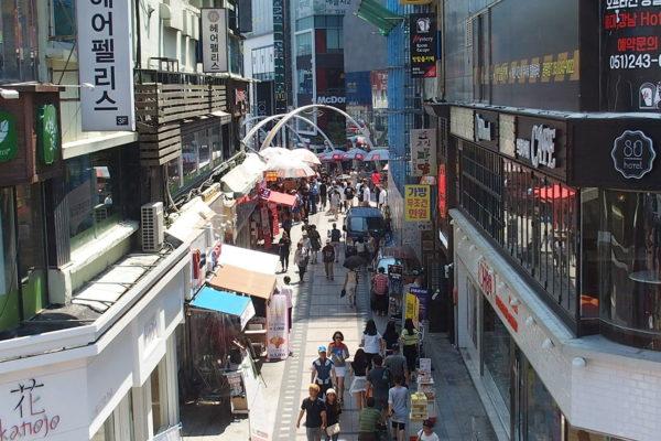 ダイヤモンドプリンセスで寄港した釜山