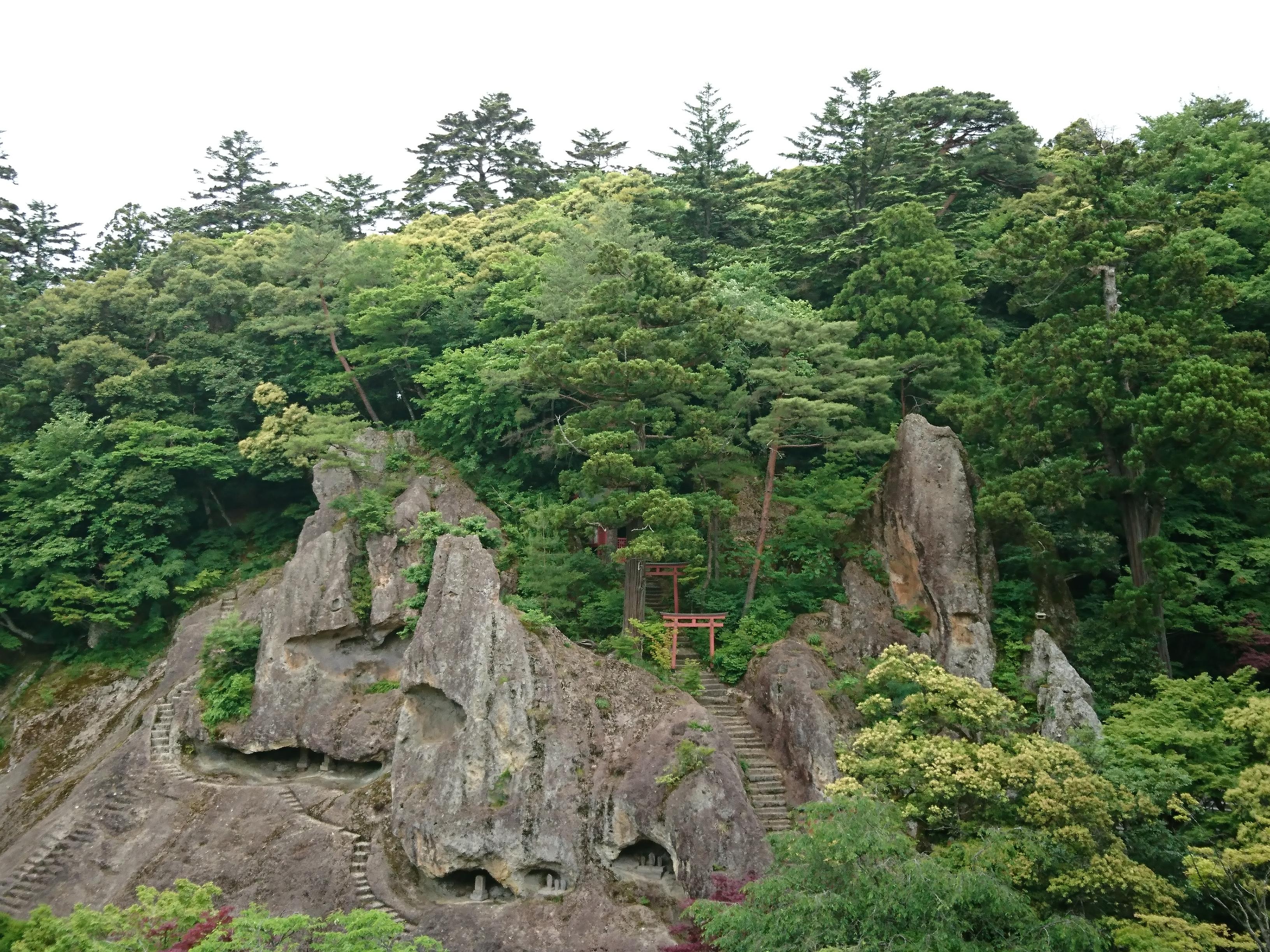 山中温泉近くの名所那谷寺
