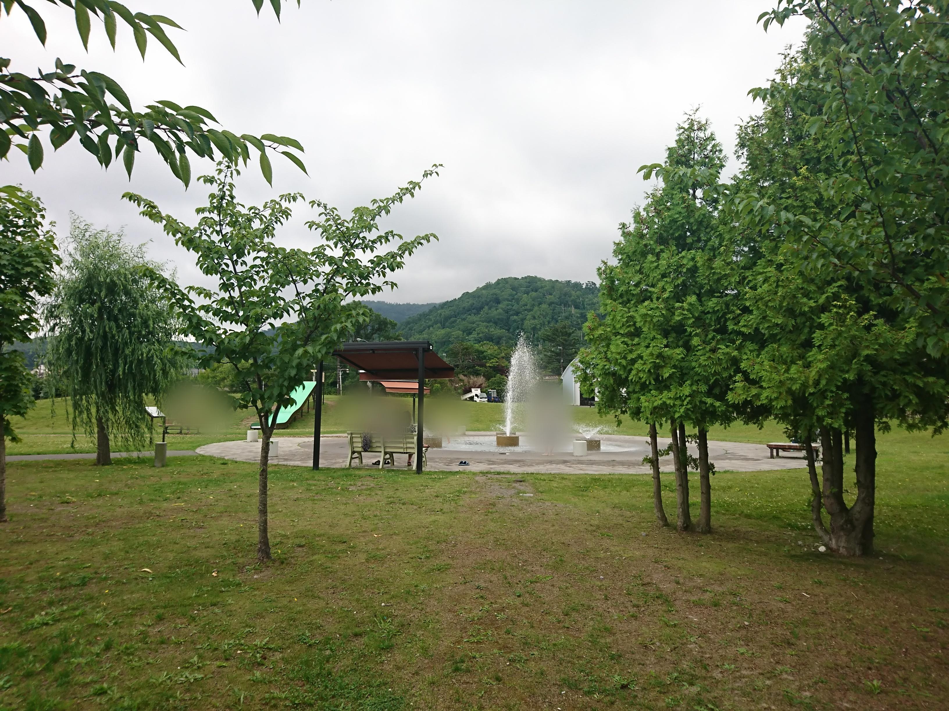 洞爺湖湖畔から珍小島公園を散策