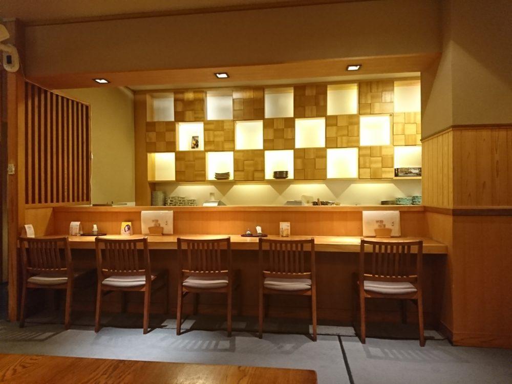 皆生温泉でディナーを頂いた日本料理荒磯