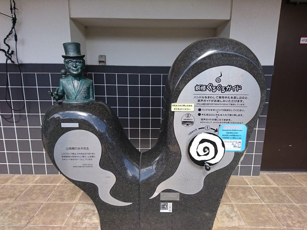 境港の一番の見どころ水木しげる記念館