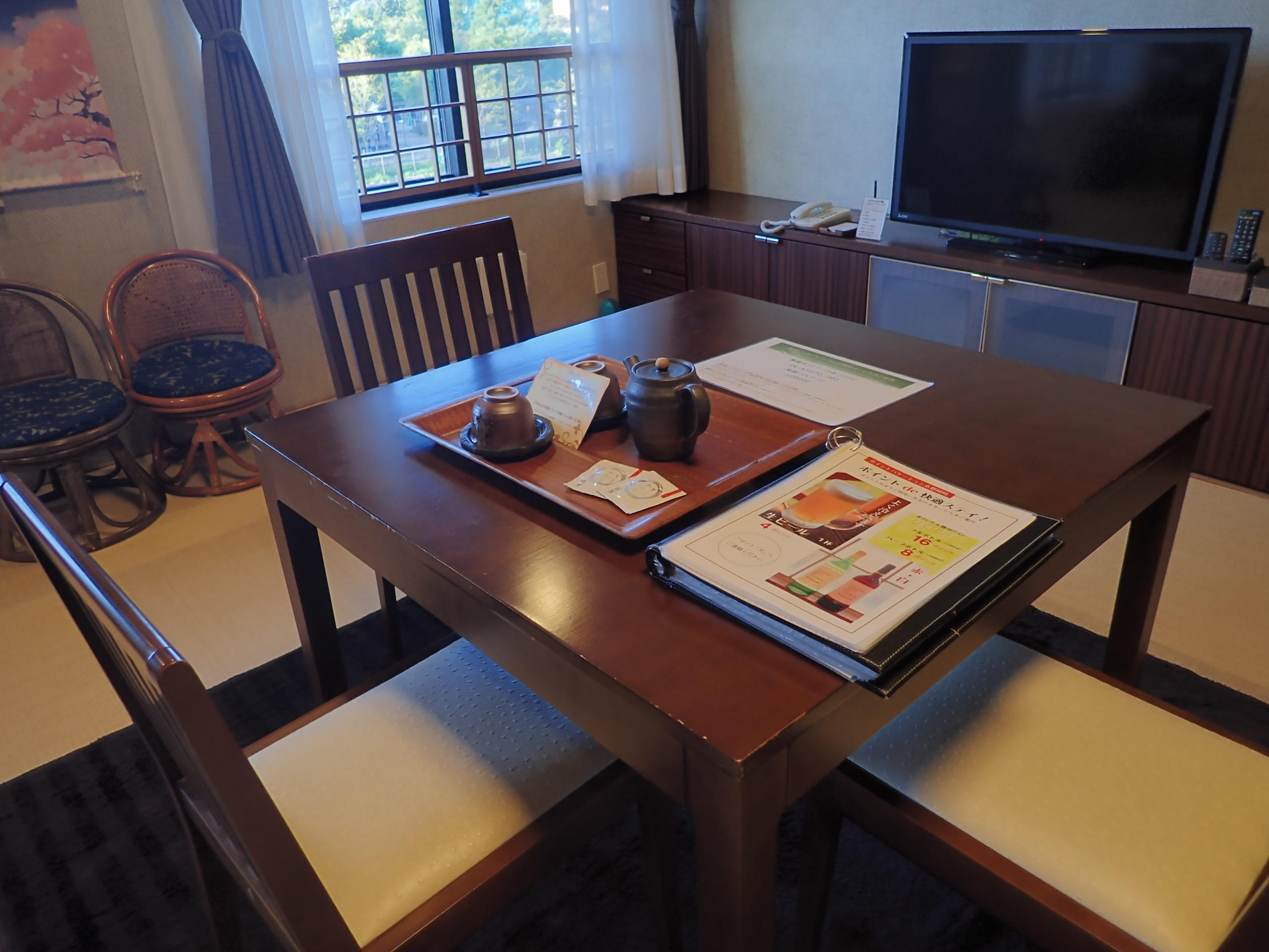 ポイントバケーション京都岡崎Dタイプの客室