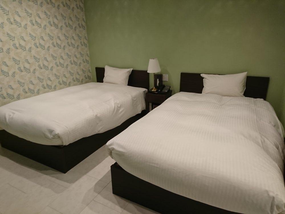 ポイントバケーション湯の山の寝室