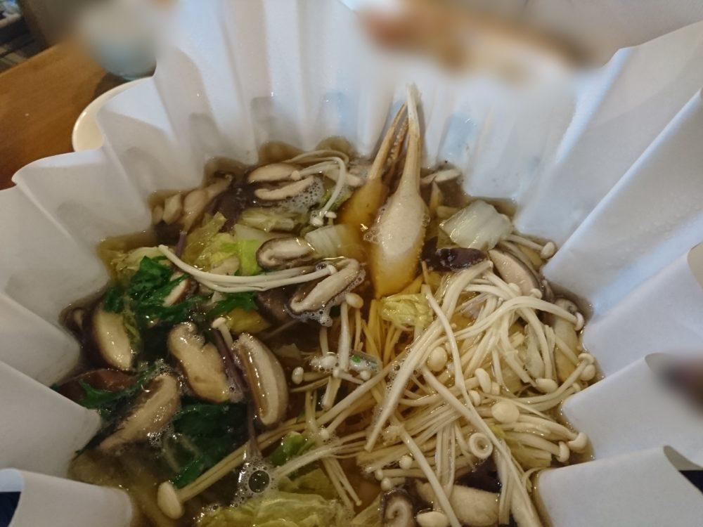 ポイントバケーション城崎温泉で食べたカニ鍋