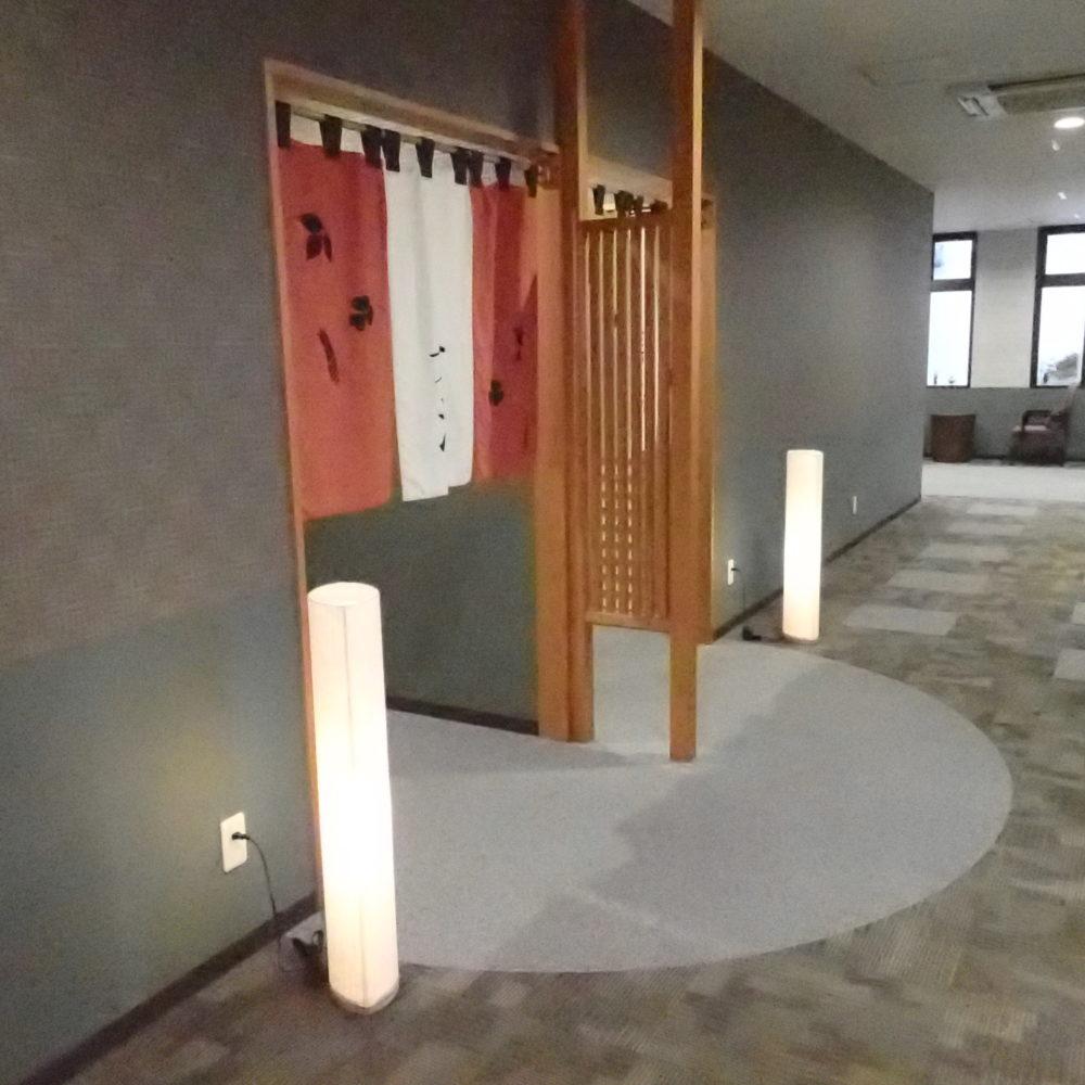 ポイントバケーション近江びわ湖の大浴場入り口