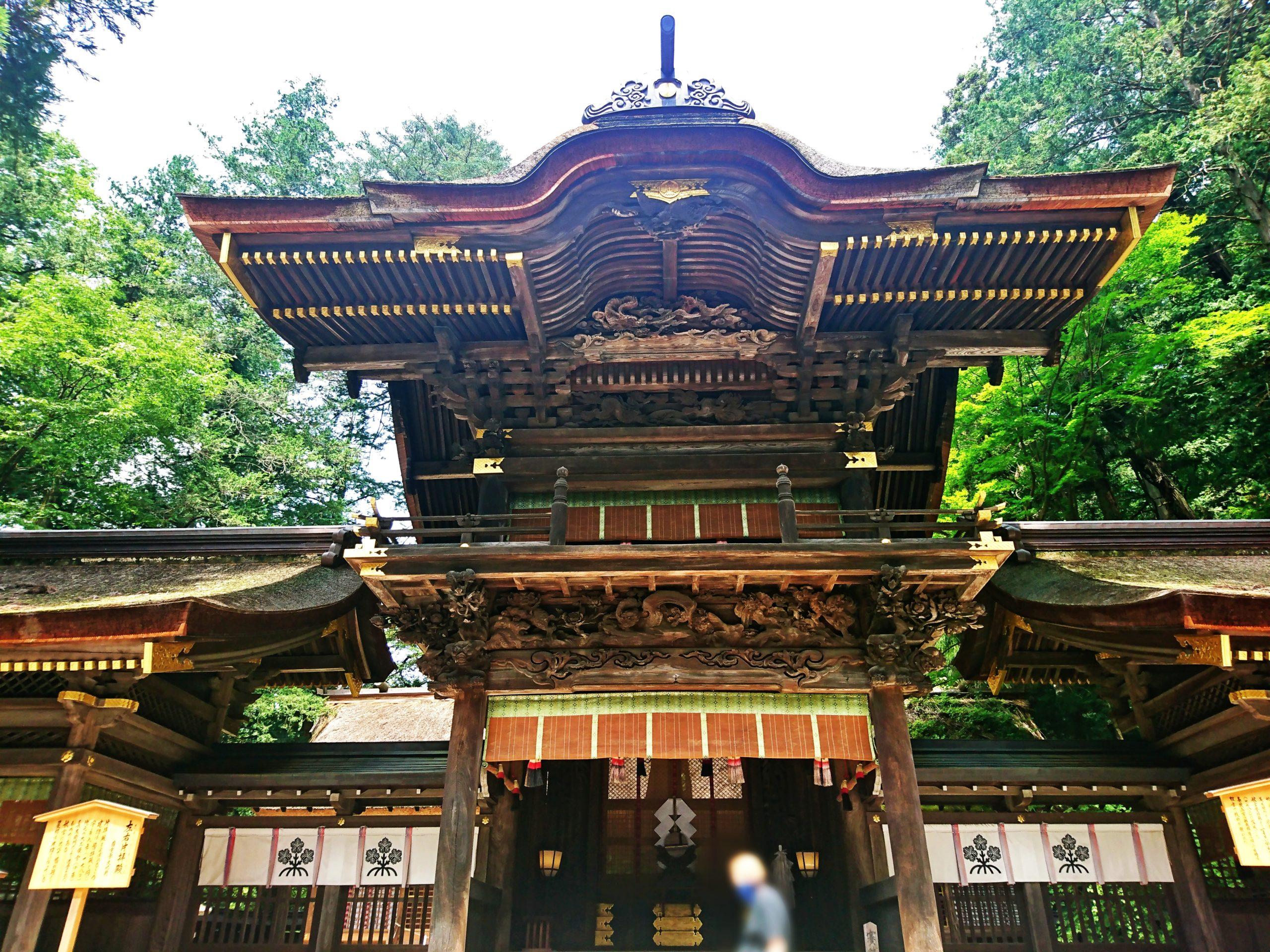 諏訪大社下社春宮の幣拝殿