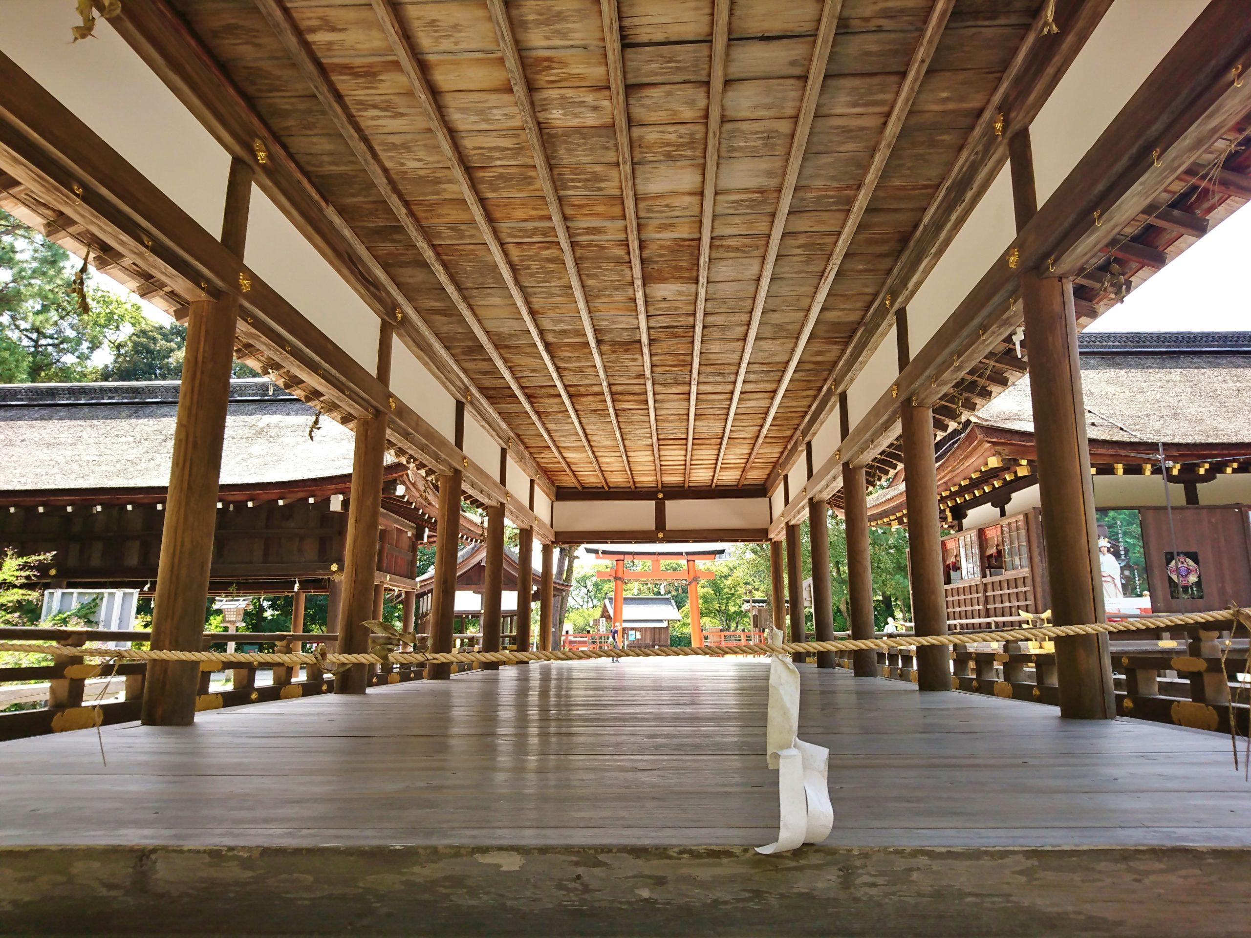 上賀茂神社の細殿