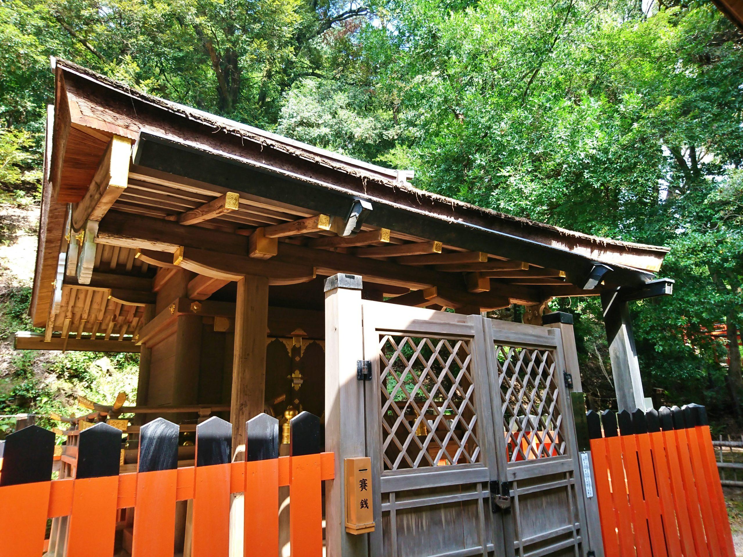 上賀茂神社の境内にある賀茂山口神社