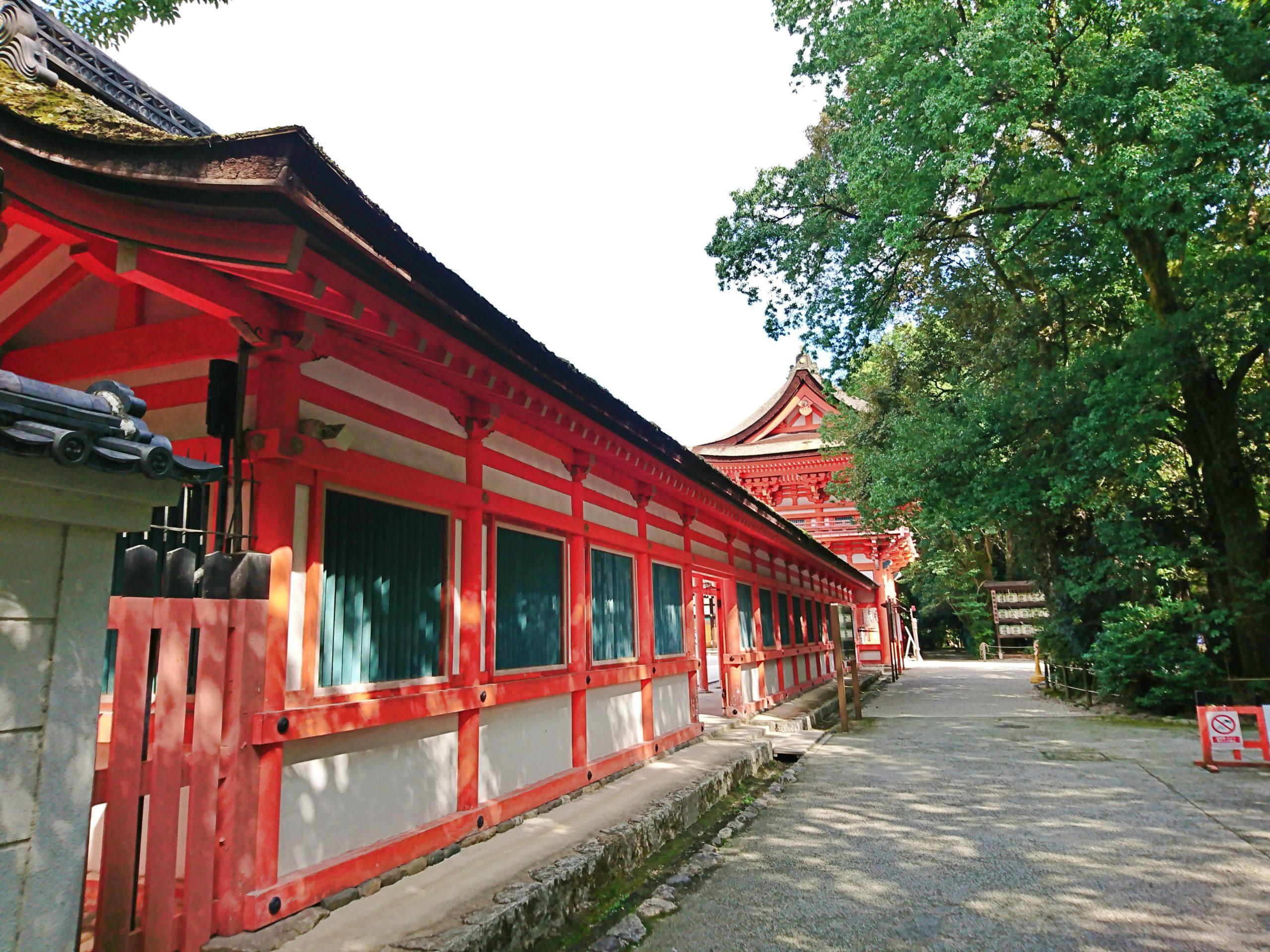 下鴨神社の桜門