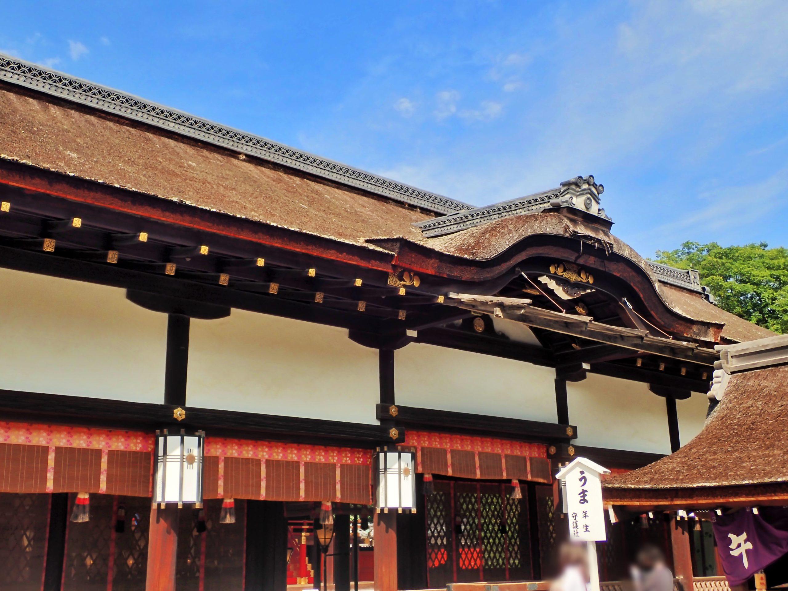 下鴨神社の幣殿